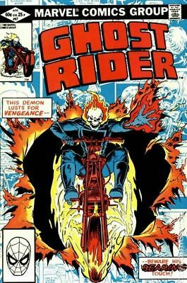 Ghost Rider (1st Series) #67 1982 VG Stock Image Low Grade