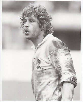 Original Press Photo John Scott England & Cardiff 1980s 10x8in