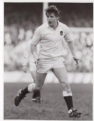 Original Press Photo Micky Skinnerr playing for England 1980s also Harlequins