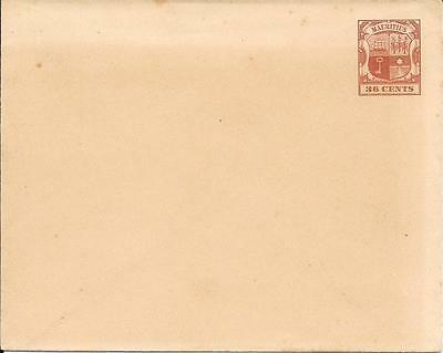 Mauritius - Pre-paid Envelope (mint) - Issued 1896