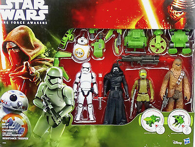 KOHL`s EXCLUSIVE 5 FIGUREN STAR WARS THE FORCE AWAKENS COLLECTOR SET VON HASBRO