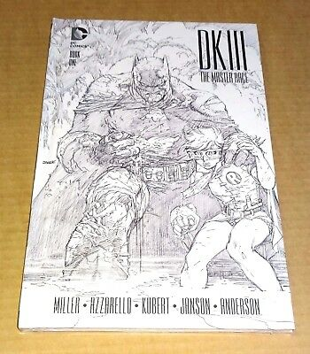 Dc Batman Dk Iii The Master Race Collectors Edition Hardback Book 1 New/sealed