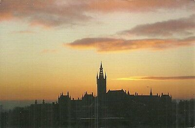 Glasgow University At Sunset.