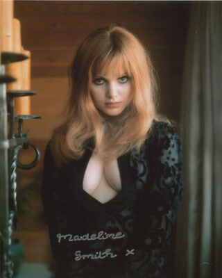 Madeline Smith Photo Signed In Person - SEXY!! - C775