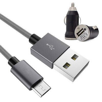 Micro USB Fast Charging Cable & Car Charger Adapter for HTC One M9 M8 M7 Desire