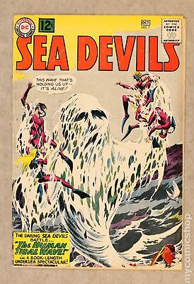 Sea Devils #7 1962 GD 2.0 Low Grade