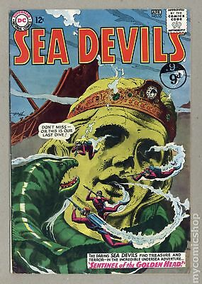 Sea Devils UK Edition #16UK 1964 VG 4.0