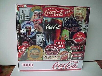 "Coca-Cola/Springbok 1000 Piece Puzzle""Decades Of Tradition"" NEW"
