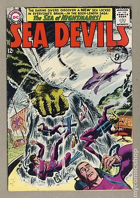 Sea Devils UK Edition #11UK 1963 VG- 3.5