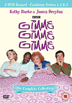 Gimme Gimme Gimme Series 1 to 3 Complete Boxset NEW DVD (8244780)