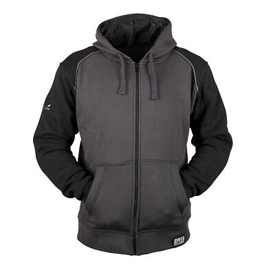 Speed & Strength Cruise Missile Mens Armored Hoody Black/Charcoal