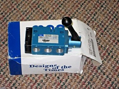 MAC Valves 180001-112-0021 Manual Lever Operated 33000 Hartfiel Automation NIB