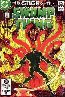 Swamp Thing (2nd Series) #13 1983 VG Stock Image Low Grade