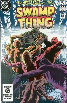 Swamp Thing (2nd Series) #18 1983 FN Stock Image