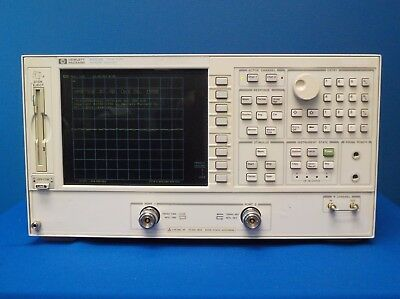 Agilent 8753E w/ Opts: 002 / 006 / 010 / 1D5 Network Analyzer 30 kHz to 6 GHz