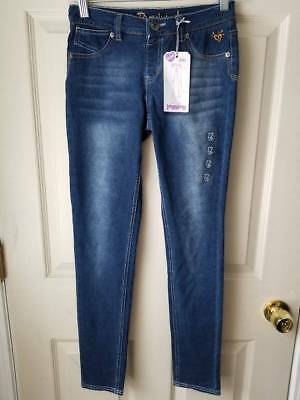 New JUSTICE Stretch Knit Jean Jeggings Girls SIZE 12