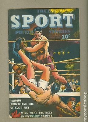 True Sport Picture Stories Vol. 2 #8 1944 VG/FN 5.0