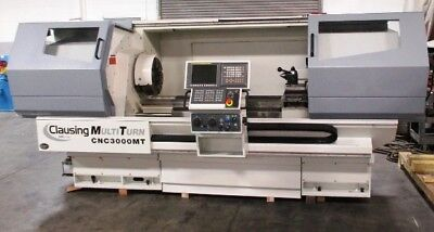 Clausing Multiturn CNC 3000MT CNC Flat Bed Lathe