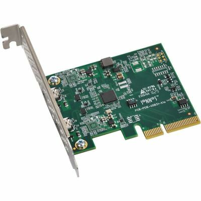 Sonnet Allegro USB 3.1 2-Port USB-C 10Gb PCIe Card