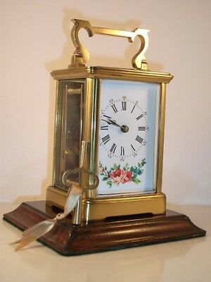 Antique French carriage clock C1900. With key. Serviced in December 2017.