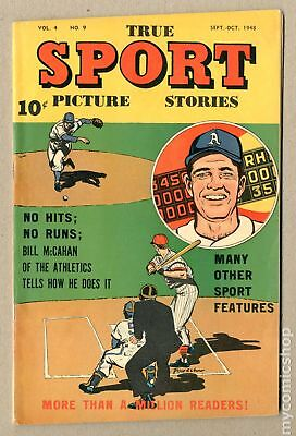 True Sport Picture Stories Vol. 4 #9 1948 FN- 5.5