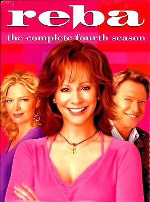 Reba DVD The Complete Fourth Season 4 Brand New Sealed Free Shipping Track US