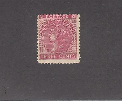PRINCE EDWARD ISLAND # 13 MLH 3cts ROSE QUEEN VICTORIA