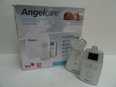 Angelcare Ac403 Movement & Sound Colour Display Baby Monitor Sensorpad
