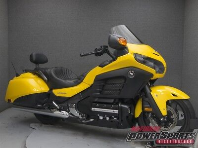 Honda Gold Wing®  2014 Honda Gold Wing GL1800 GOLDWING F6B Used FREE SHIPPING OVER $5000