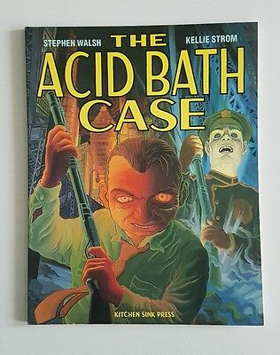 The Acid Bath Case,  Kitchen Sink Crime graphic novel from 1992 free P&P!!