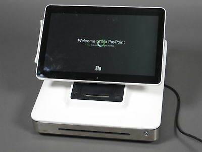 AS-IS Elo All In One Paypoint POS System ESY13P1-2UNA-0-ZB-MT-A4.0-WH