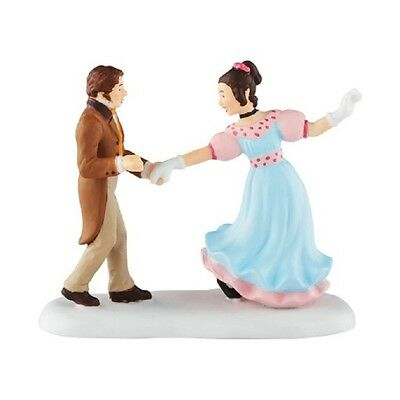 """DEPT. 56 Dickens' Village Accessory """"A DANCE WITH BELLE"""" ~ A Christmas Carol"""