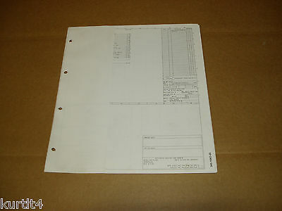 1986 ford f600 f700 f800 cab/cowl wiring diagram schematic sheet service  manual