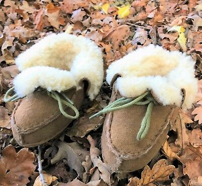 Baby / Toddler Sheepskin Boots Booties Warm Fur Boys Girls Shoes Shearling Wool