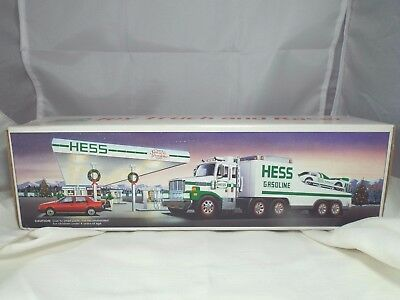 Vintage 1988 Hess Toy Truck and Racer NIB