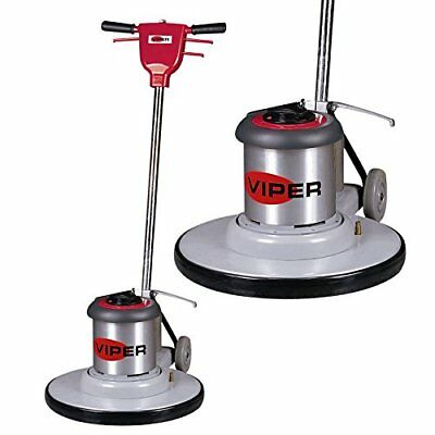 "Viper Cleaning Equipment VN1715 Venom Series Low Speed Buffer, 17"" Deck Size, 17"