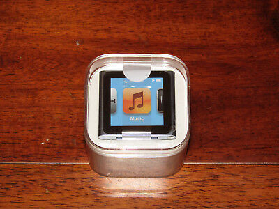 APPLE iPod Nano MC689LL/A A1366 Blue 8GB 6th Generation