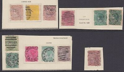 TASMANIA SOUND COLLECTION LOT MOUNTED $80+ BABY CHALON HEADS 99c NO RESERVE