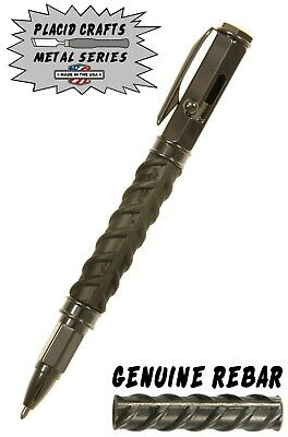 Vertex Bolt Action Ballpoint Pen with Rebar Body & Gunmetal Hardware / #VBAGMR