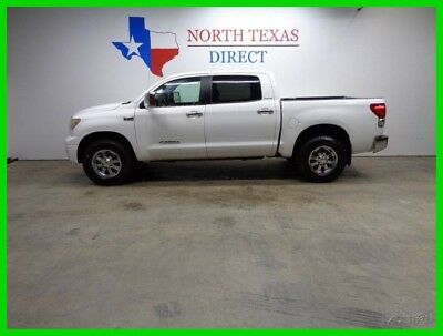 2007 Toyota Tundra 4WD Limited Crewmax Leather Heated Seats Back Up C 2007 4WD Limited Crewmax Leather Heated Seats Back Up C Used 5.7L V8 32V