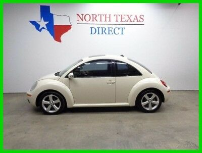 2006 Volkswagen Beetle-New TDI Diesel Leather Heated Seats Sunroof 2006 TDI Diesel Leather Heated Seats Sunroof Used Turbo 1.9L I4 8V Automatic