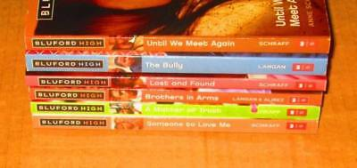 Bluford High Lot of 6-SOFTCOVERS/Teen/YA/SCHOLASTICS- Bully, Lost and Found,..