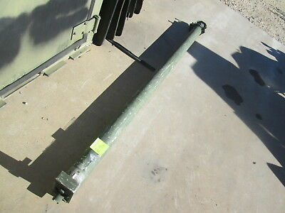 Used US Tower 10M Crank-up Telescoping Antenna Mast AB-1386/U, UFIX Damaged