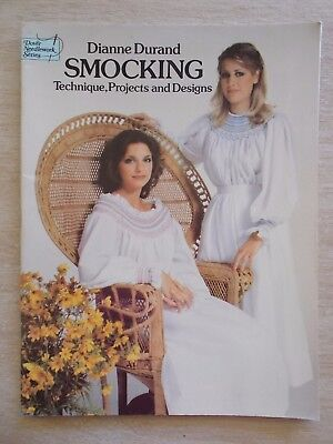 Smocking~Dianne Durand~Technique~Projects~Designs~42pp P/B~1979