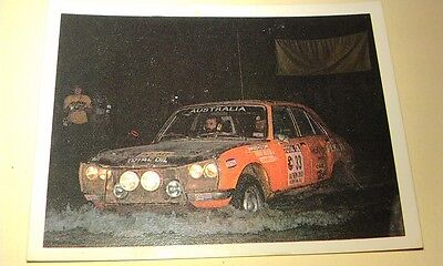PEUGEOT 504 - WEETBIX AUSTRALIA Rally Champs Swap Card