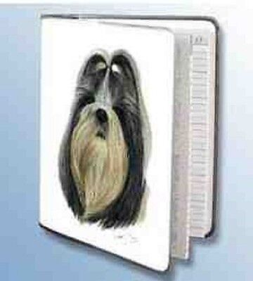 Retired SHIH TZU Softcover Address Book artwork by Robert May