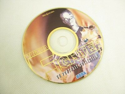 VIRTUA FIGHTER CG PORTRAIT COLLECTION CD Only Sega Saturn ss