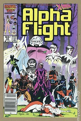 Alpha Flight (1st Series) Canadian Price Variant #33 1986 VG/FN 5.0