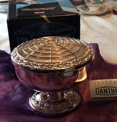Ianthe silver plated rose bowl boxed