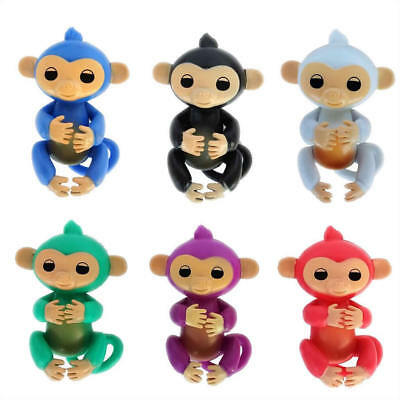 Hot Cute Happy Finger Baby Monkey Hanger Children Toy Pet Kids Xmas Christmas